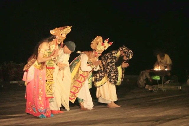 Colaboartion Noh Dance with Indonesian Culture
